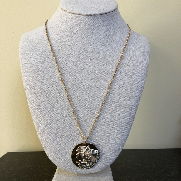 Jewelry - Gold Eagle Pendant Necklace